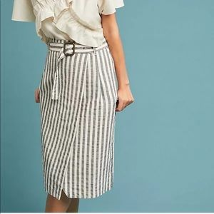 Anthropologie Wrap Pencil Skirt
